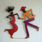 Frivolous Tendencies:  Recycled Fun Art for Your Walls