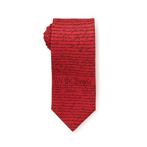 Constitution Tie by Josh Bach